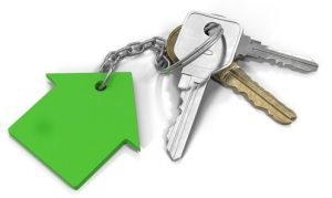 Keys for new rental property